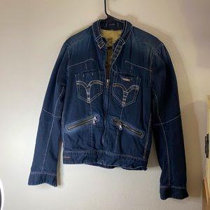 GURU Special Edition Jean motorcycle Style Jacket